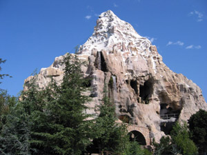 Matterhorn Mountain Roller Coaster