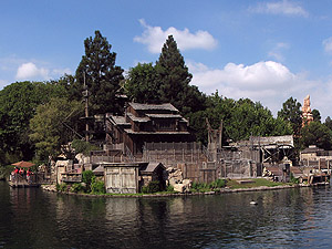Tom Sawyer's Island Disneyland