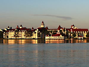 Grand Floridian Resort View from Bay Lake