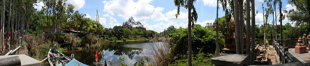 Expedition Everest Panoramic View