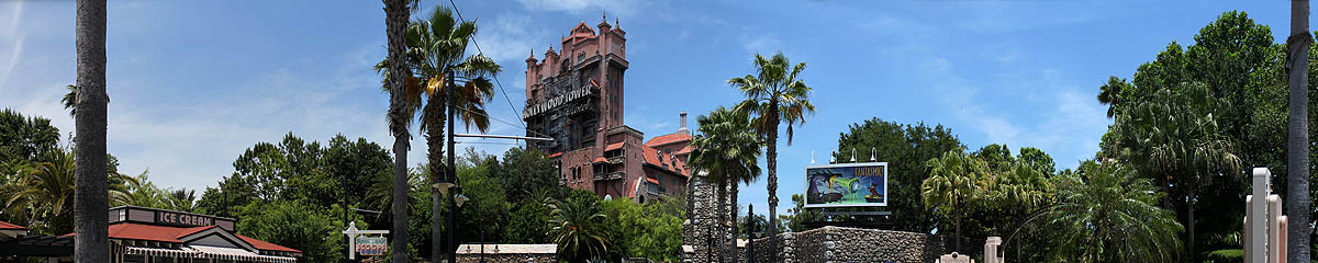 Twilight Zone Tower of Terror - Hollywood Tower Hotel Sunset Strip